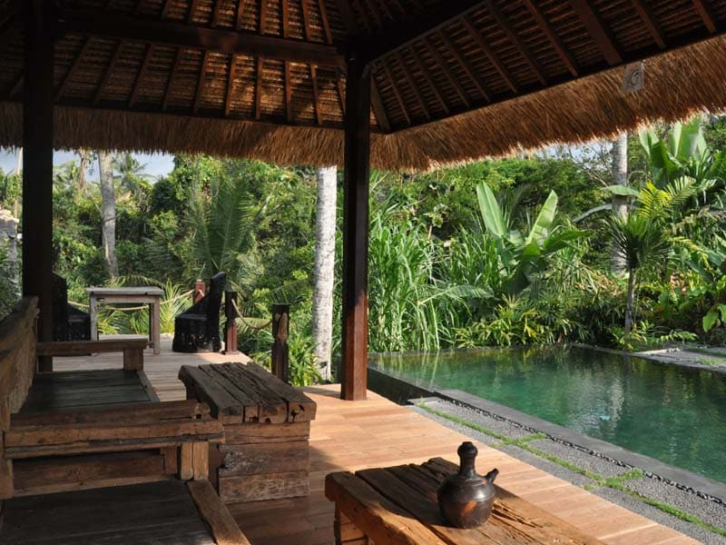 ubud virgin villa-private villa 3 bedroom-pool view