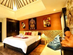 ubud virgin villa-private villa for rent in ubud-confortable room