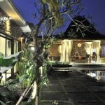 ubud virgin villa-private villa for rent in ubud-garden view