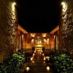 ubud virgin villa-private villa for rent in ubud-night