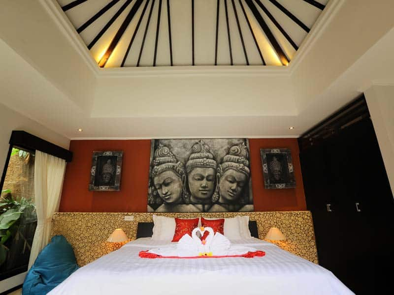 ubud virgin villa-private villa for rent in ubud-the room 3
