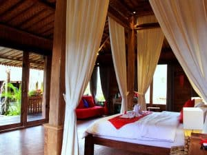 ubud virgin villa-suite deluxe pool view-perfect romantic room for your holiday in Ubud