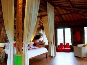 ubud virgin villa-suite deluxe pool view- room decorations