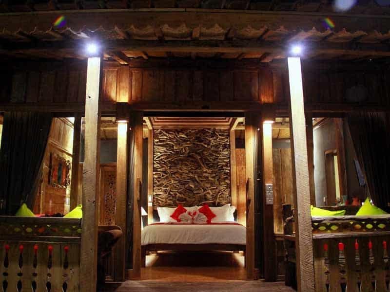 ubud virgin villa -suite pool view-entrance room
