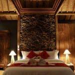 ubud virgin villa -suite pool view-the room
