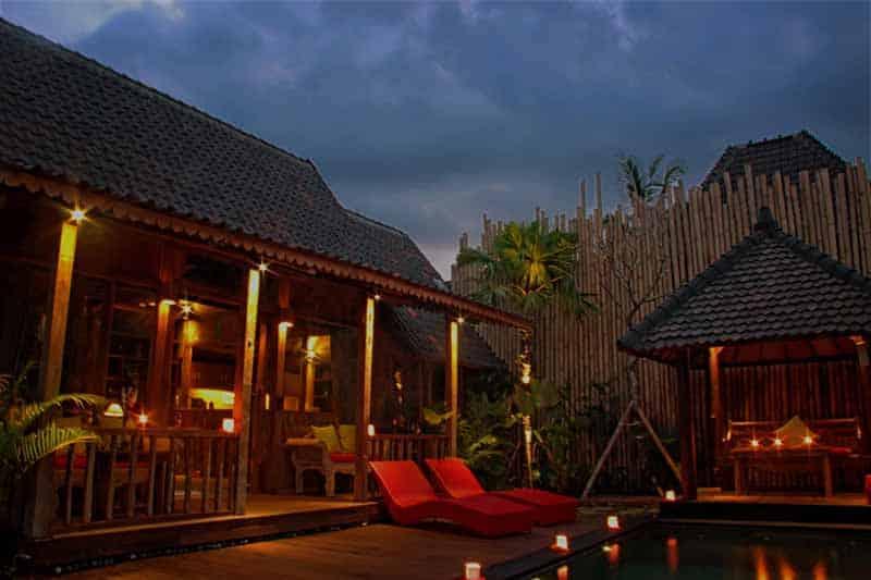 Ubud virgin villa private villa for rent in village