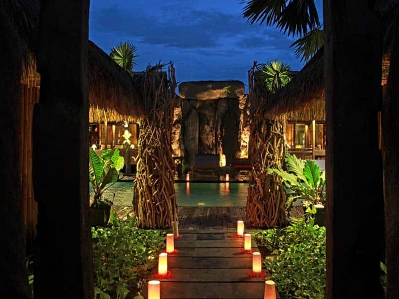 ubud virgin villa-private villa 6 bedroom-entrance
