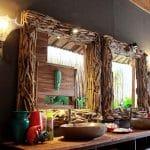 ubud virgin villa-private villa 6 bedroom-mirror and the decoration