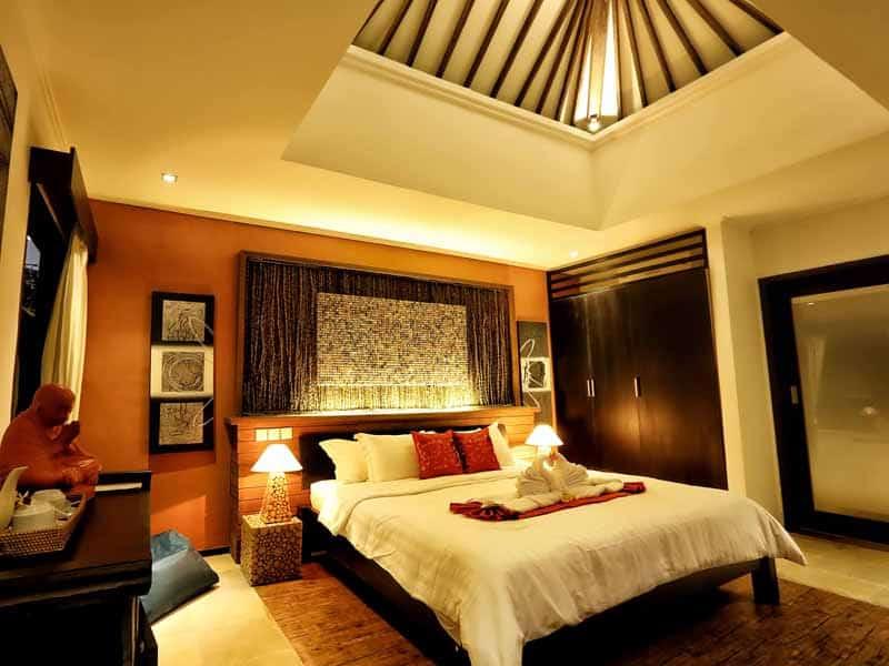 ubud virgin villa-private villa for rent in ubud-relax room