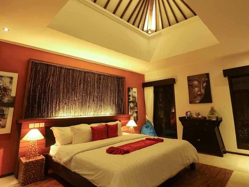 ubud virgin villa-private villa for rent in ubud-the room