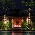 ubud virgin villa-suite deluxe pool view- night