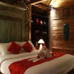 ubud virgin villa -suite pool view-room decoration