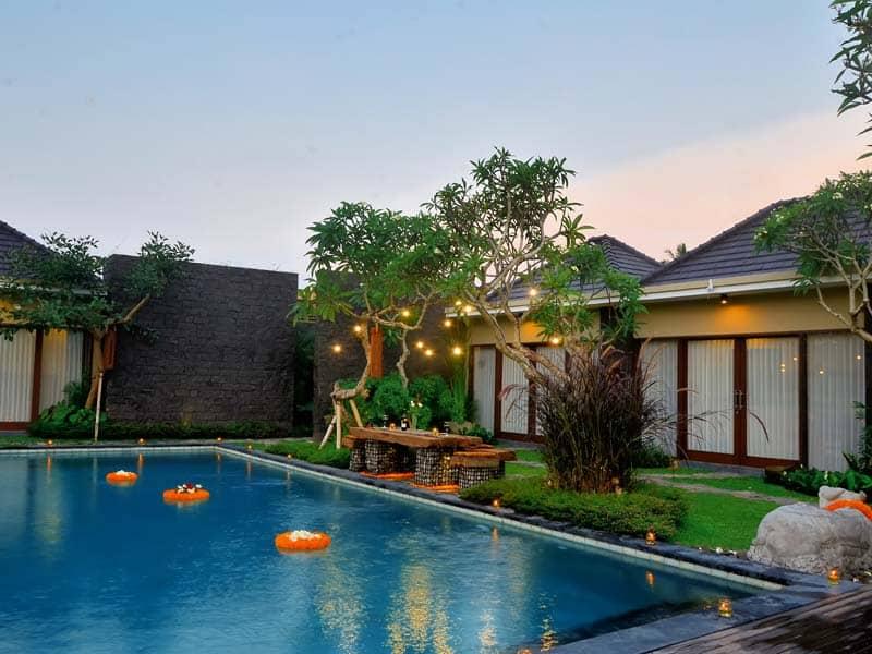 ubud virgin villa-villa 3 bedroom-the view2